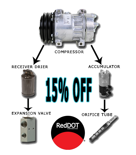 Red Dot Compressor 15% off bundle with qualifying accessories